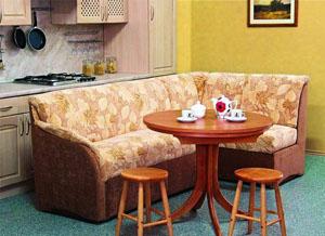 Кухонный угловой диван. Как выбрать угловой диван для кухни?