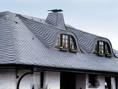 Наобычная крыша из сланца