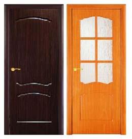 Межкомнатные двери с ПВХ-покрытием