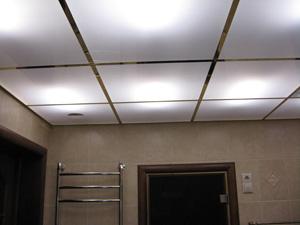 Безопасность подвесного потолка