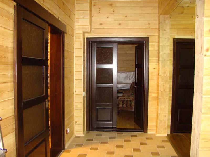 Интерьер деревянного брусового дома