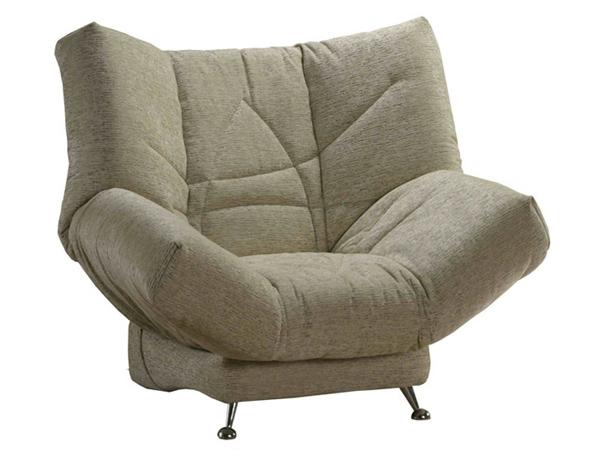 Кресло на металлических ножках