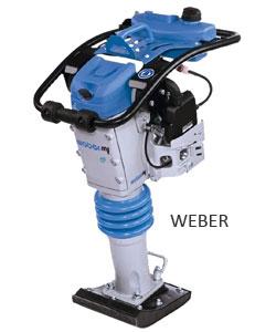 Вибротрамбовка Weber