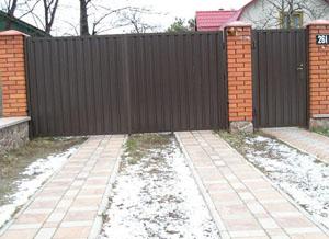 Ворота для дачи. Как выбрать надежные дачные ворота?