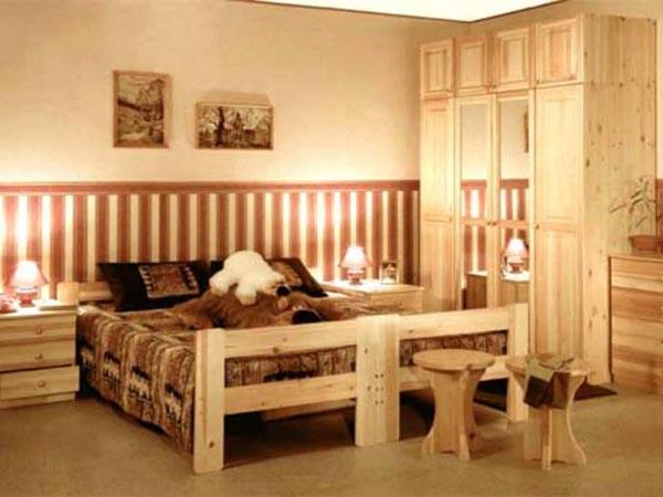 Мебель для спальни из сосны