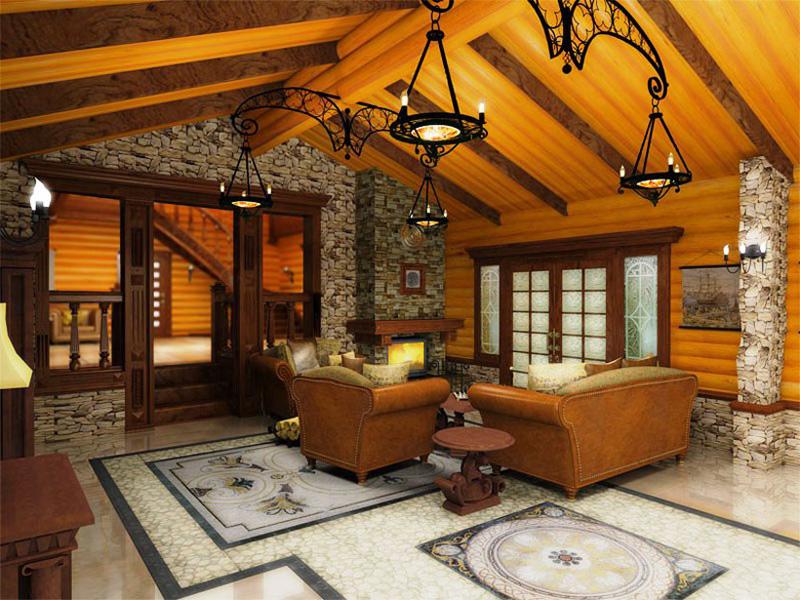 Дизайн дома в стиле лофт