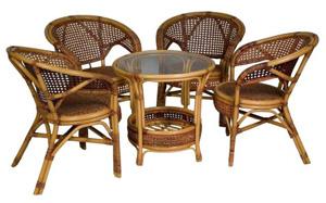 Мебель из ротанга — солнечный привет из тропиков