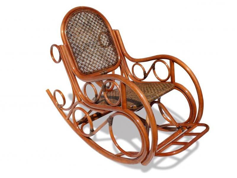 Кресло-качалка для сада