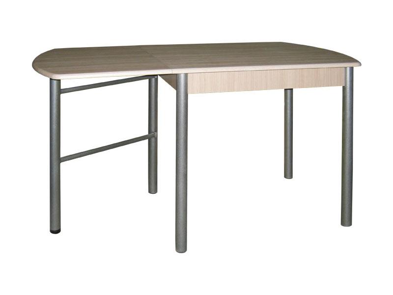 Раскладной стол для кухни на металлических ножках