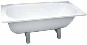 Как правильно выбрать и грамотно установить стальную ванну