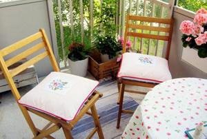 Обустройство балкона для использования летом