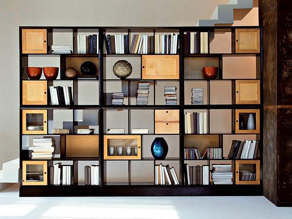 Стеллажи для дома. 13 фото стеллажей для книг и не только
