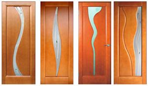 Межкомнатные двери: материалы для изготовления