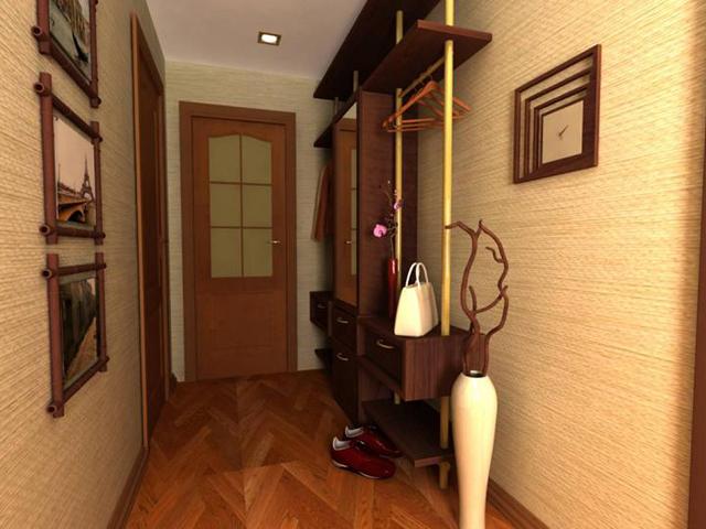 Обои для прихожей и коридора в квартире. Фото оформления прихожей обоями
