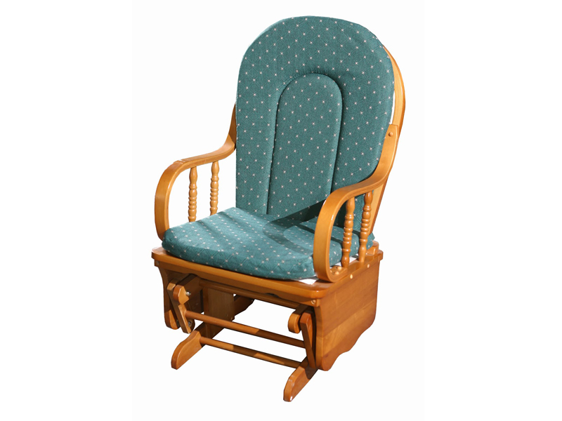Бирюзовая кресло-качалка