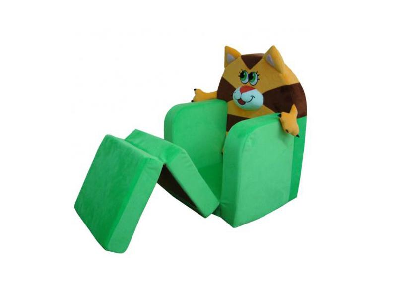 Кресло-кровать с забавным котенком