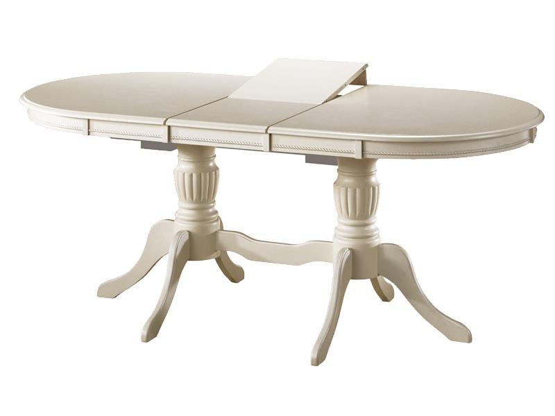 Красивый белый стол