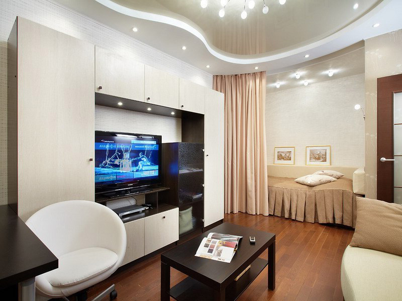 Ниша однокомнатной квартире