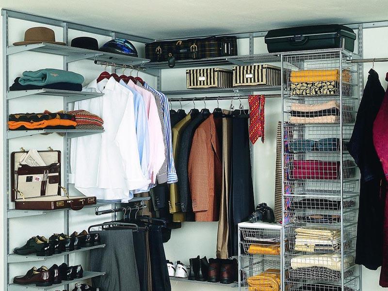 Обустройство гардеробной комнаты. Фотографии интерьеров гардеробных комнат