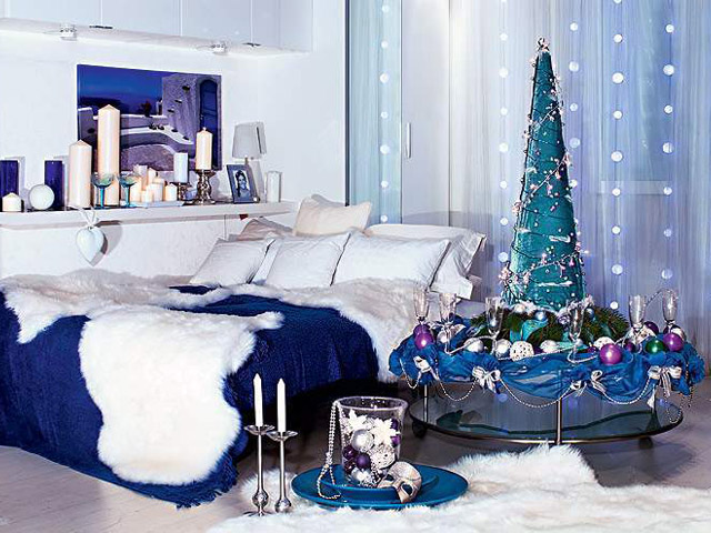 Новогодняя спальня