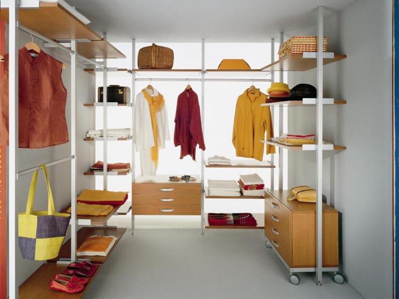 Мебель для небольшой гардеробной