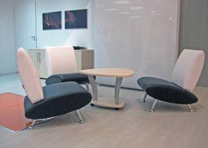 Офисная мебель в зоне отдыха
