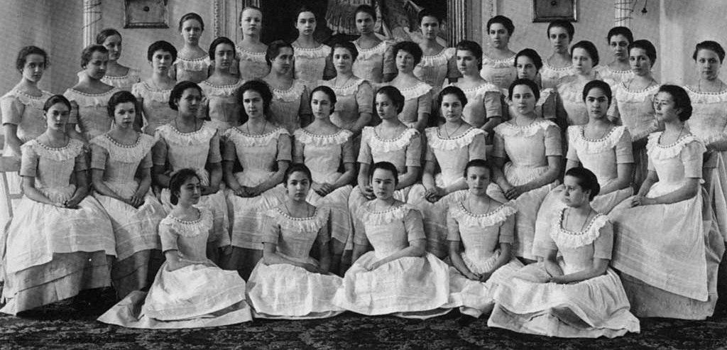 Ученицы дома благородных девиц