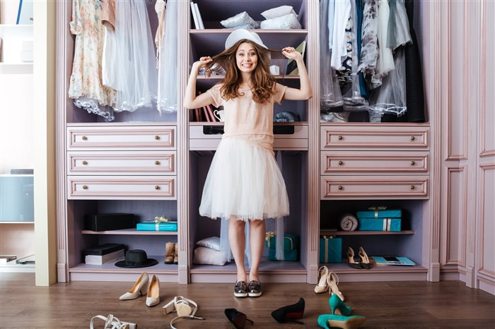 Организация удобной гардеробной
