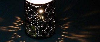 Декоративный фонарь