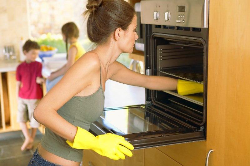 Как легко отмыть духовой шкаф