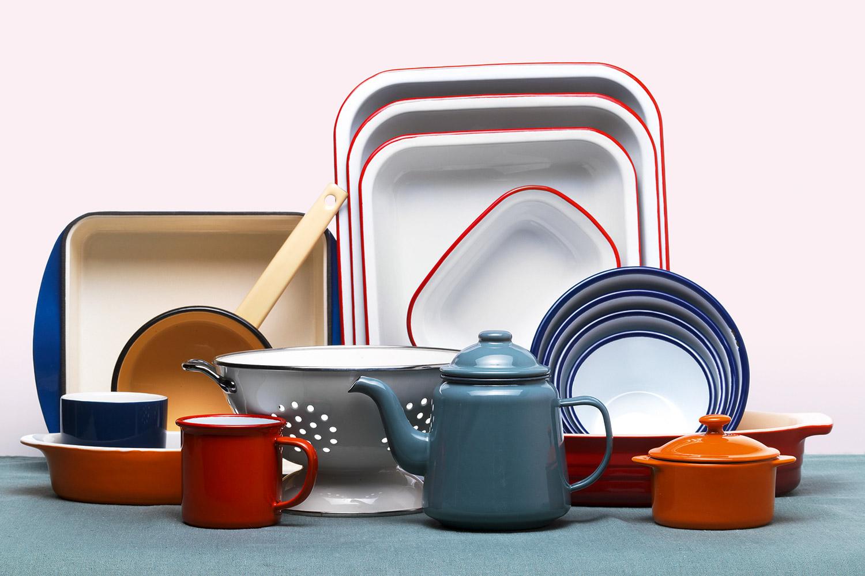 Советы по уходу за кухонной эмалированной посудой