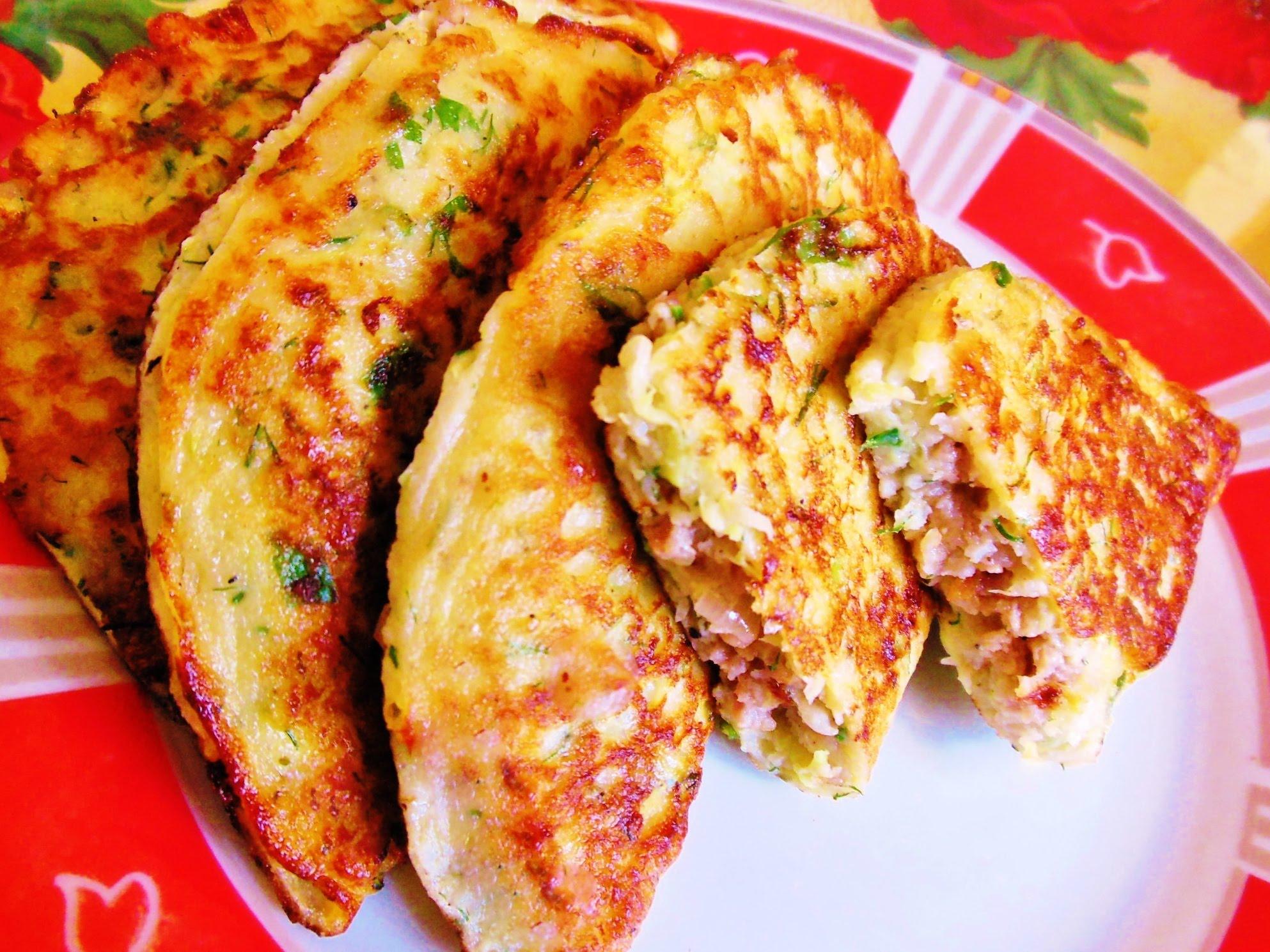 «Чебуреки» из кабачка