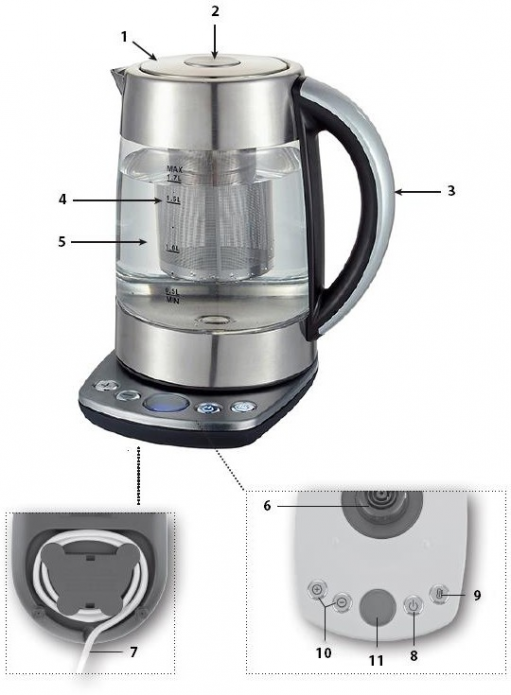 Электрический чайник Dauken DK550