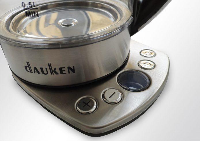 Элементы управления чайником