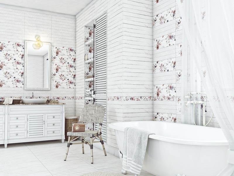Ванная в стиле шебби