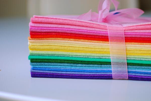 Фетр всех цветов радуги