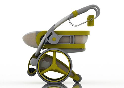 Детская прогулочная коляска будущего
