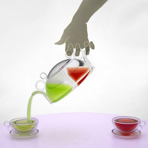Двойной чайник — Инь и Янь