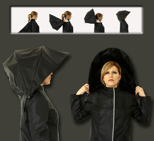 Плащ и зонт: два в одном