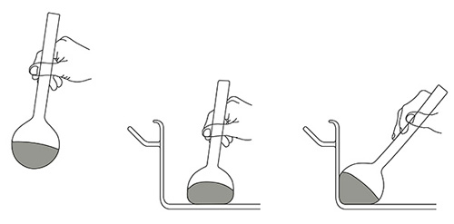 Резиновая поварешка