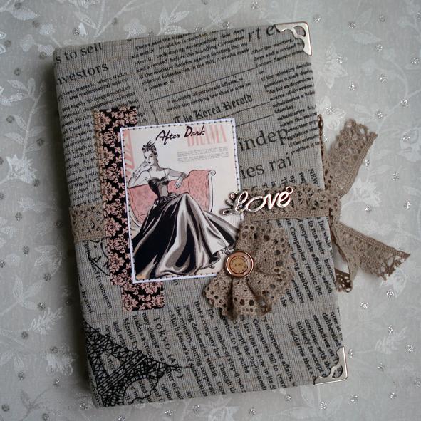 Обложка на ежедневник своими руками фото