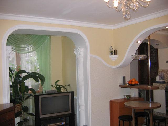Интерьер арки в квартире фото