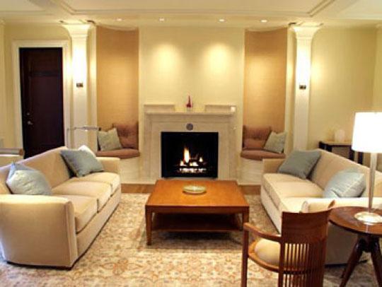 Фото дизайн интерьера каминного зала