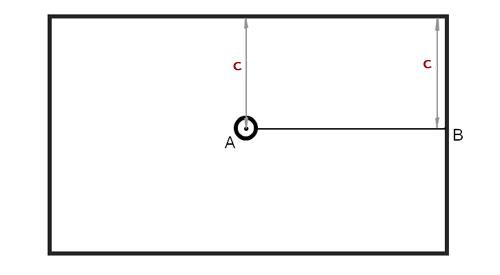 Разметка потолка под потолочную плитку