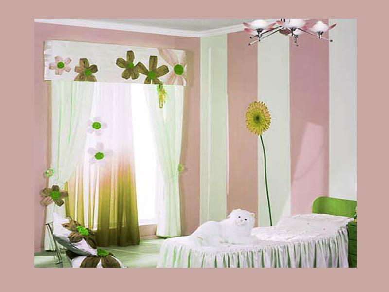 Расцветки для штор в детской
