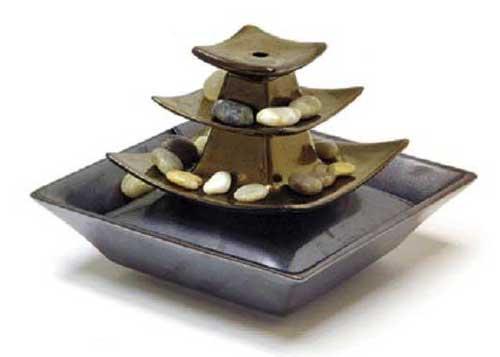 Фото комнатного фонтана