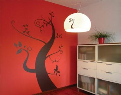 Декор стен в интерьере дома своими руками