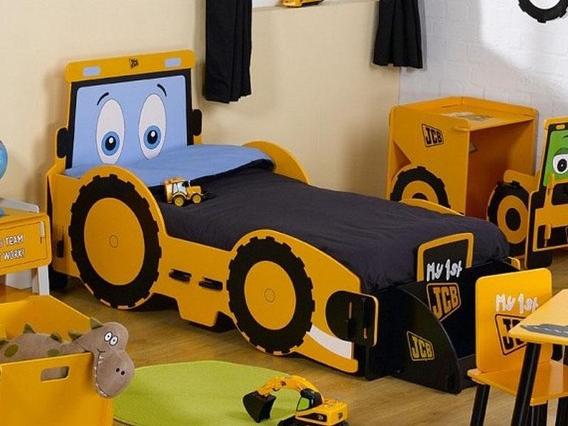 Кровать-трактор