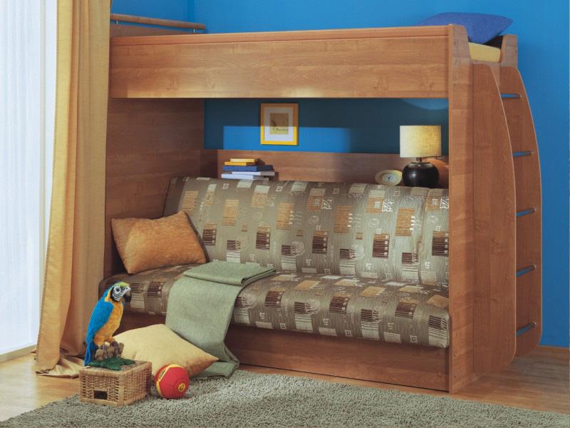 Кровать Чердак С Диваном