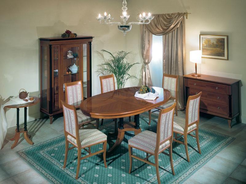 Небольшая гостиная в стиле бидермейер